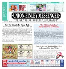 Sinking Spring Borough Snow Emergency by Union Finley Messenger July 2010 By South Hills Mon Valley