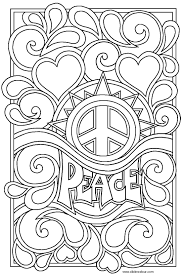 Page With Love Coloring Pages