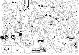 Many Small Character For An Excellent Doodling