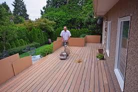 hardwood decking repair service in greater vancouver
