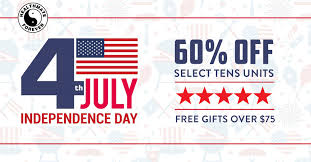 4th Of July Sale Is Ready. 60% Off On Selected TENS/EMS ...