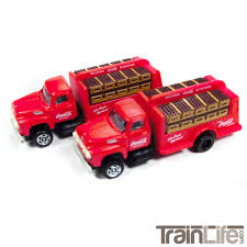 98 N Scale Trucks 1954 Ford Bottle Delivery Truck CocaCola TrainLifecom