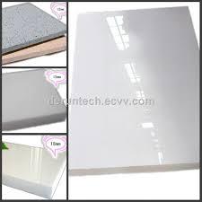 polished crystallized glass slab white nano polished