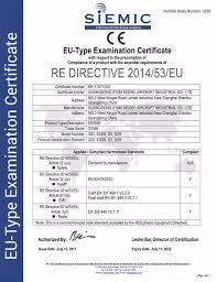 ce bureau veritas ce re directive examination certificate cert syma official site
