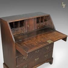 oak writing bureau furniture georgian antique bureau oak writing desk c 1800