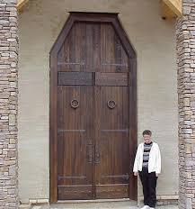 Image Detail For Old World Rustic Wood Front Entry Door Style