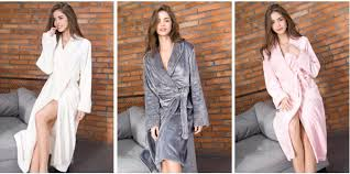 robe de chambre soie 2017 luxe chaud kimono peignoir pour femmes hommes soie