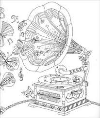 Hidden Nature Coloring Page