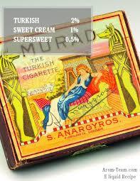 si vous cherchez un e liquide cigarillo crème testez cette recette