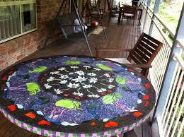 100 Flannel Flower Glass Art Mosaic Table Mosaic Art Mosaic Art