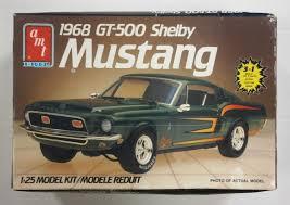 Amt 6541 1968 Gt-500 Shelby Mustang Model Kit | Cars, Motorbikes, Trucks