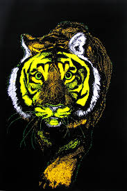Tiger Black Light Posters Lite Blacklite