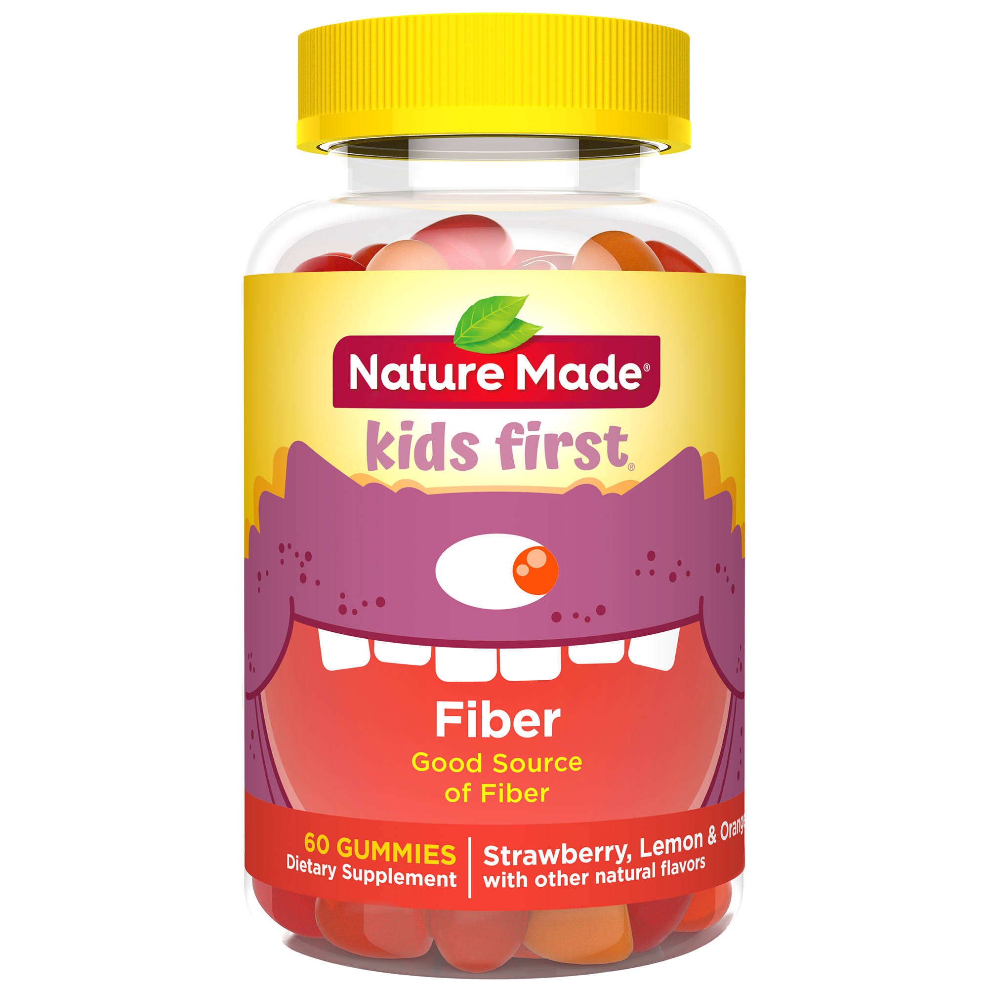 Nature Made Kids First Fiber Gummies Dietary Supplement - 60ct