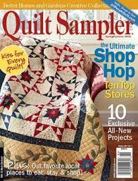 Rosebud s Cottage Looking for Quilt Sampler magazine