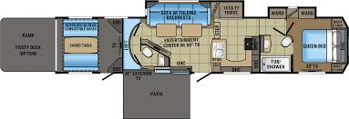 Jayco 2014 Fifth Wheel Floor Plans by 2018 Jayco Seismic 4113 Model