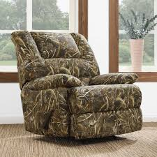 Living Room Chairs And Recliners Walmart by Furniture Camo Big Man Recliner Mossy Oak Recliner Recliners