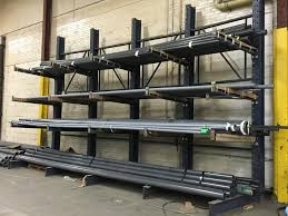 Bar, Tubing & Pipe Rack | Cantilever Pipe Storage Racks