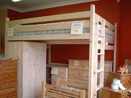 King size Double Loft Bed High Sleeper New 5ft