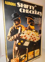 18479 Shifty Checkers By Aurora All Mint Condition And Works Endorsed Don Adams Fast Action Changing Game Measures Approx 18 Long