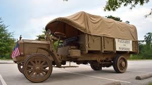 100 Packard Trucks Dave Lockard Earns National Awards For His WWI Trucks
