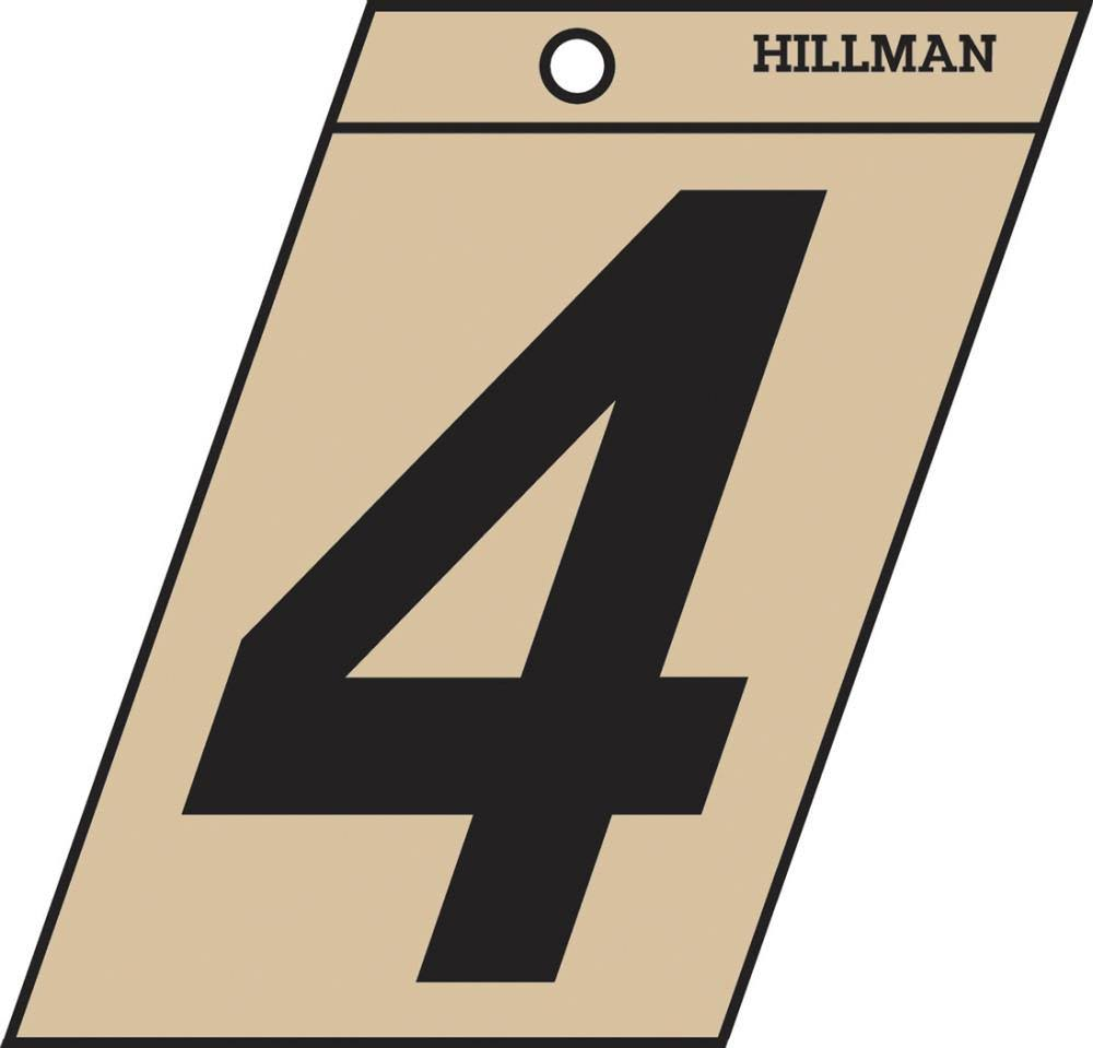 The Hillman Group 839146 1-1/2 In. Black & Gold Mylar - 4