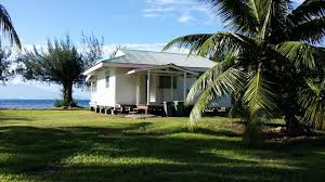 vacation home maison bord de mer plage privée moorea