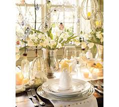 Easter Tablescape With Lots Of Whites And Just A Hint Color Bunnies Chickens Eggs Oh My Ways To Prepare Your Table