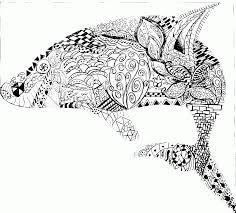 12 Pics Of Hard Pattern Coloring Page Animals