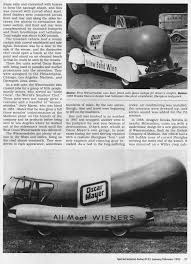 SIA Flashback – Hot Dog! Here Come The Wienermobiles | Hemmings Daily
