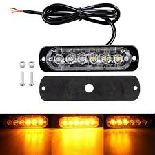 Ultra Slim Waterproof 18W Truck 6-LED Surface Mount Flashing Strobe ... 36w Amber Truck 12led Flash Emergency Hazard Warning Strobe Light Red Blue 16 Led Lights High Intensity Car Trailer Side Marker Strobe Lights 612 Flashing White Recovery Beacon 18led Firefighter Vehicle Dash Can Civilians Use In Private Vehicles Xyivyg 54 Bars Deck China Power Super Bright Tractor 3 Inch 45w Light V16 For American Simulator Ultra Slim Waterproof 18w 6led Surface Mount Minibrights Watt Amber Markerstrobe Peterbilt Tow
