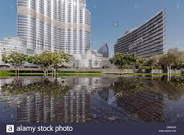 100 The Armani Hotel Dubai And Burj Khalifa United Arab Emirates Stock