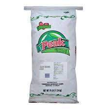 Peak Black Beans 25 Lb Bag