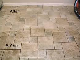 best way to clean grout on tile floor on ceramic tile flooring
