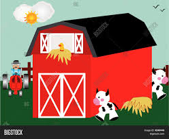 Farm Animals Red Barn Vector & Photo   Bigstock Red Barn Clip Art At Clipart Library Vector Clip Art Online Farm Hawaii Dermatology Clipart Best Chinacps Top 75 Free Image 227501 Illustration By Visekart Avenue Of A Wooden With Hay Bnp Design Studio 1696 Fall Festival Apple Digital Tractor Library Simple Doors Cartoon For You Royalty Cliparts Vectors