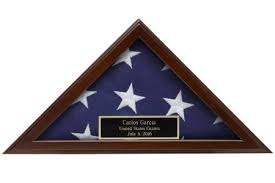 Small American Flag Display Case 3x5 Made In USA Free Shipping 2018 Personal Inscription Engraving Custom Personalized