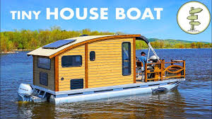 100 Boat Homes Woodworker Builds The Perfect Tiny House For Life On The Water