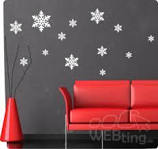 schneeflocken eiskristall fensterdeko fensterbilder wandaufkleber aufkleber deko