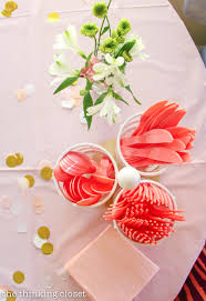 A Blooming First Birthday Bash Inspired By Spring Flowers In Pink Blush And