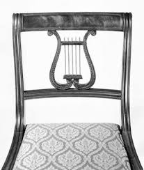 Lyre Back Chairs History by Maurie D Mcinnis And Robert A Leath Beautiful Specimens