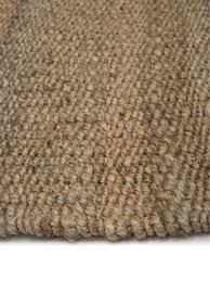 handgefertigter jute teppich naturals mit fransen