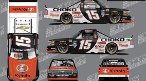 2017 NASCAR Camping World Truck Series Paint Schemes - Team #15