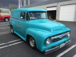 100 Ford Panel Truck For Sale 50s Chevy Pickup Girls 1956 Autos Post