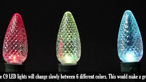 color change c9 led bulbs rgb e17 lights