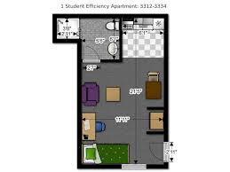Efficiency Floor Plans Colors Floor Plans Office Of Residence Life University Of Wisconsin