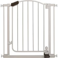 home safe extra tall walk through decorative baby gate 28 48