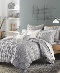 CLOSEOUT Bar III Diamond Pleat Bedding Collection Bedding