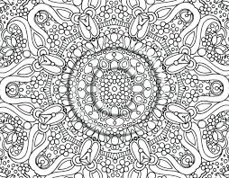 Free Printable Abstract Coloring Pages Adults Art Therapy Book Games Hard