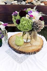 We Have These Actual Wooden Bases Of Tree Slices To Rent Or Design Into Your Centerpieces Wood CenterpiecesRustic Wedding