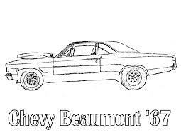 Beautifully Idea Muscle Cars Coloring Pages Car Online Book Free Large Size