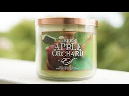 Bath And Body Works Pumpkin Apple Candle by Bath And Body Works Candle Review Green Apple Orchard Youtube